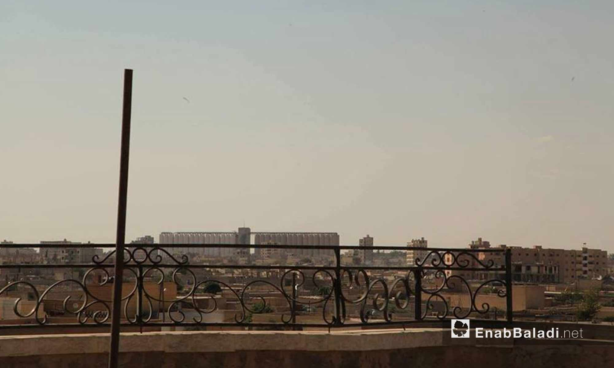 حي الصناعة في مدينة الرقة بعد سيطرة قوات سوريا الديموقراطية عليه - 28 تموز 2017 - (عنب بلدي)