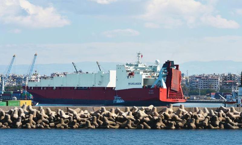 ميناء اللاذقية في سوريا - (انترنت)