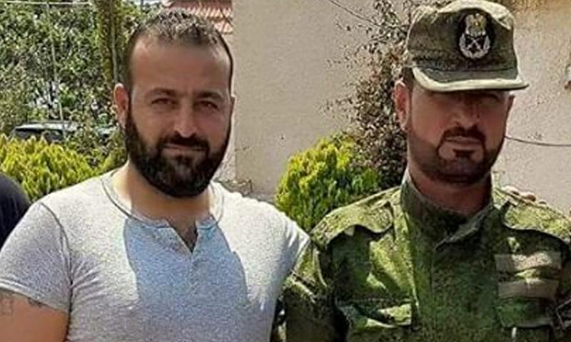 قائد مجموعات السحابات في قوات النمر، وائل زيدان - (فيس بوك)