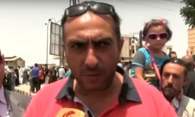 وسيط النظام السوري لعودة أهالي حي الوعر إلى حيّهم أدهم رجوب - (يوتيوب)