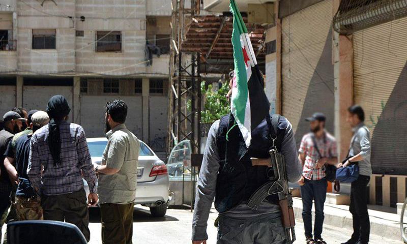 عملية تبادل لجيش الإسلام مع النظام في جنوب دمشق في أيار الماضي (جيش الإسلام)