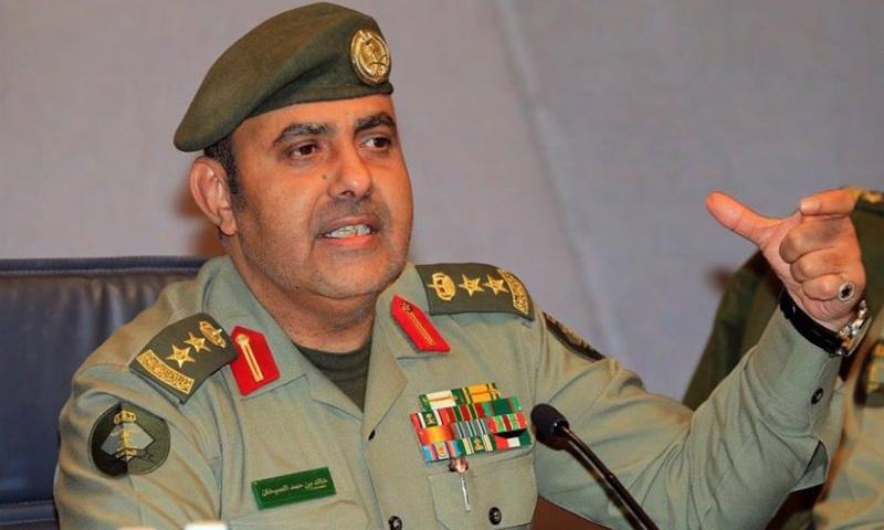 مساعد مدير عام الجوازات السعودية العقيد خالد الصيخان (وكالات)