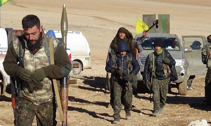 """مقاتلو """"قسد"""" غرب الرقة - تموز 2017 (غضب الفرات)"""