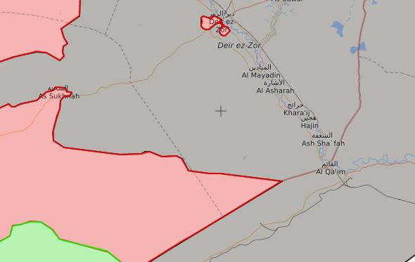 خريطة توضيحية لتقدم قوات الأسد في بادية حمص الشرقية - 21 آب 2017 - (LIVEMAP)