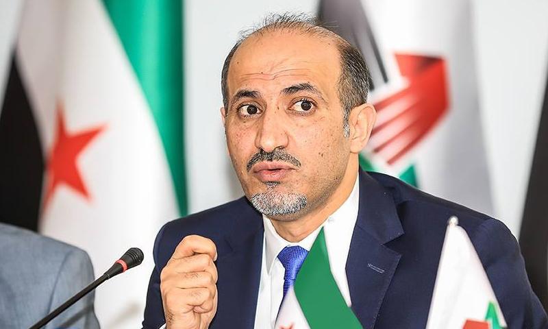 """أحمد عاصي الجربا، رئيس تيار """"الغد السوري"""""""