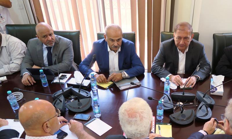 اجتماع أطراف المعارضة في الرياض - 21 آب 2017 (Reuters)
