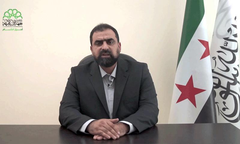 القائد العام لأحرار الشام حسن صوفان - 7 آب 2017 (يوتيوب)