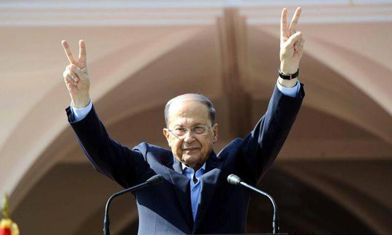 الرئيس اللبناني ميشيل عون (yashnews)