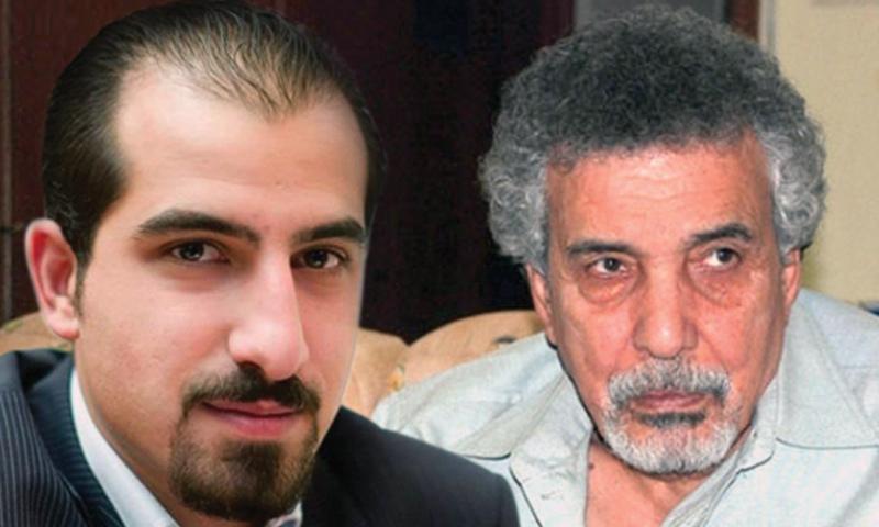 الكاتب مصطفى خليفة المعتقل السابق والمبرمج باسل الصفدي الذي قتل تحت التعذيب في سجون النظام السوري (تعديل عنب بلدي)