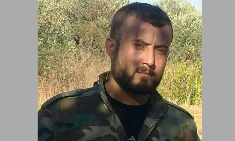 القائد العسكري لفوج السحابات، عمار رسلان (فيس بوك)