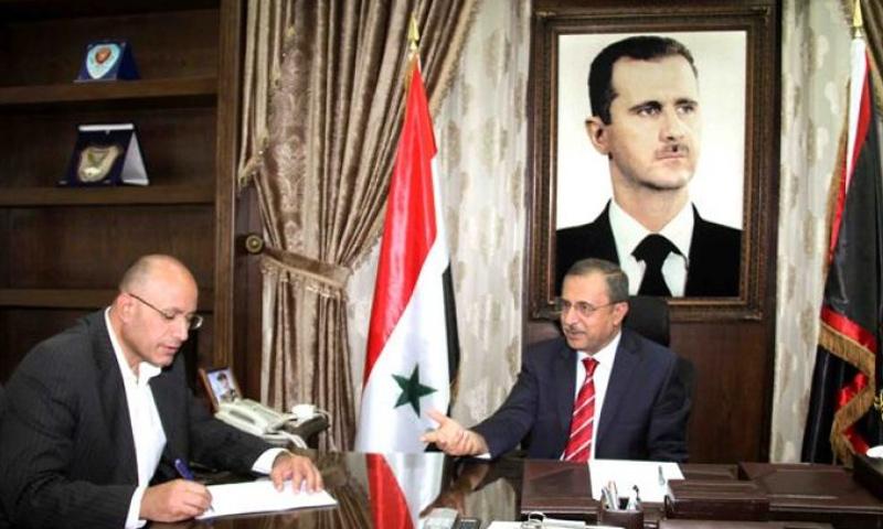 وزير داخلية النظام السوري محمد الشعار - آب 2017 (صحيفة تشرين)