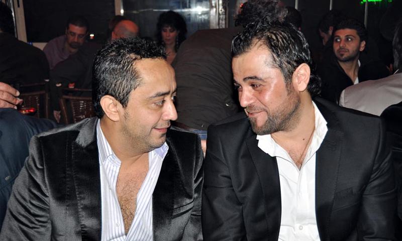 المطربان السوريان وفيق حبيب وعلي الديك - (انترنت)