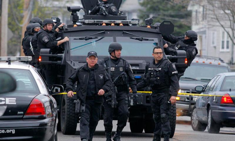 عناصر من الشرطة الأمريكية - (انترنت)
