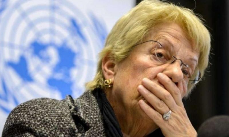 المحققة الدولية بالشأن السوري كارلا ديل بونتي - (AFP)