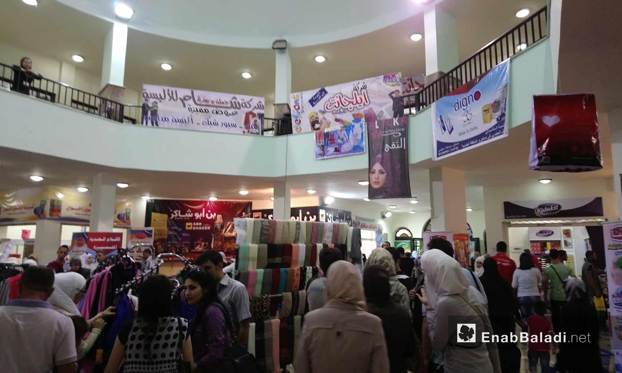 فعاليات معرض دمشق الدولي في العاصمة دمشق - 26 آب 2017 (عنب بلدي)