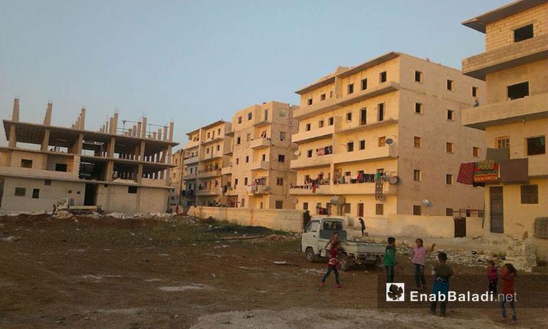 حركة الإعمار في مدينة حارم بريف إدلب الغربي (عنب بلدي)