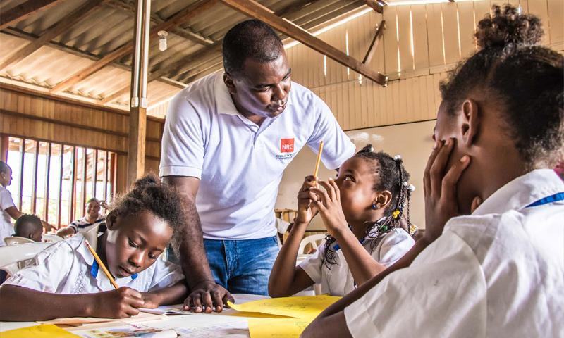 """نموذج """"المدرسة الجديدة"""" للتعليم في كولومبيا (NRC)"""