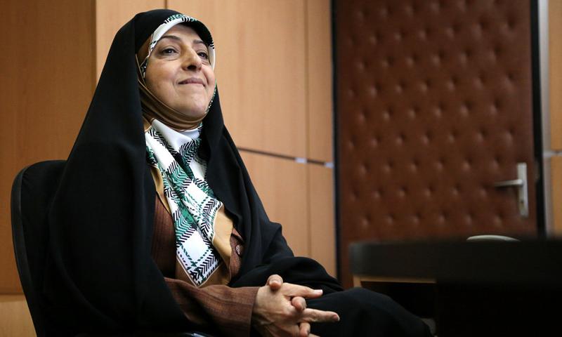 معصومة ابتكار نائب رئيس الجمهورية في شؤون المرأة والأسرة - (انترنت)