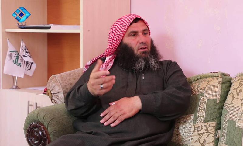 القائد العام لحركة نور الدين الزنكي توفيق شهاب الدين - (وكالة ثقة)