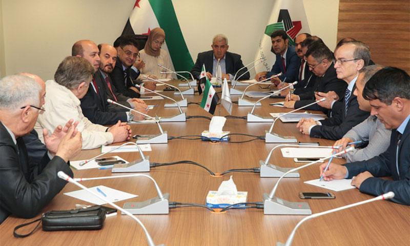 اجتماع الهيئة السياسية للائتلاف المعارض- 31 أيار 2017 (الائتلاف)