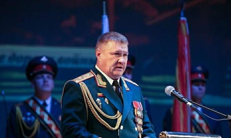 الجنرال الروسي المقتول في دير الزور فاليري أسابوف (Globallookpress)