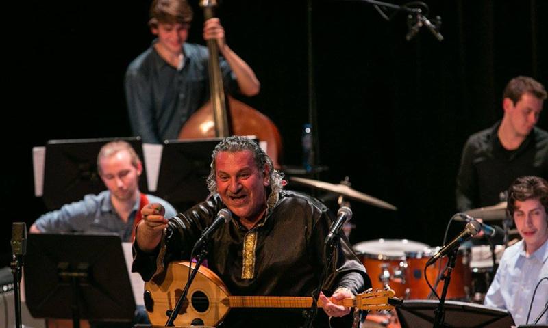 الموسيقي السوري إبراهيم كيفو - (فيس بوك)
