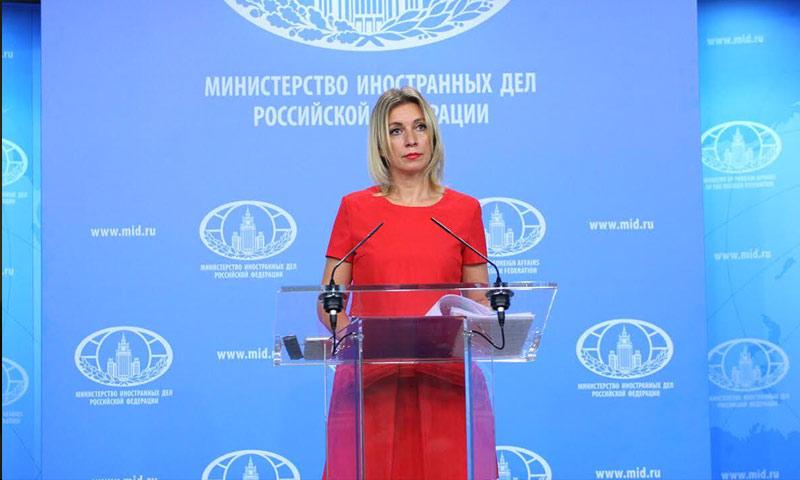 المتحدثة باسم الخارجية الروسية، ماريا زاخاروفا (إنترنت)