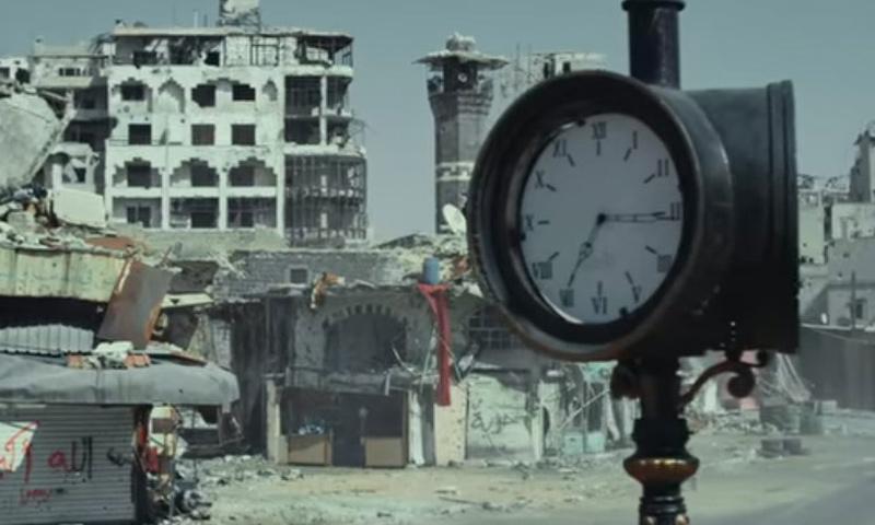 """مشهد من برومو فيلم """"مطر حمص"""" - 22 أيلول 2017 (يوتيوب)"""