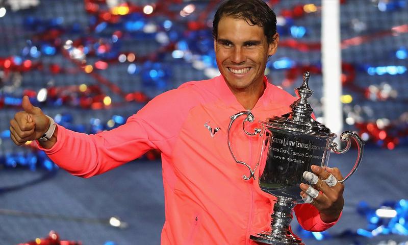 """اللاعب الإسباني رافاييل نادال يتوج بلقب """"أمريكا"""" المفتوحة - الأحد 10 أيلول - (ATP)"""