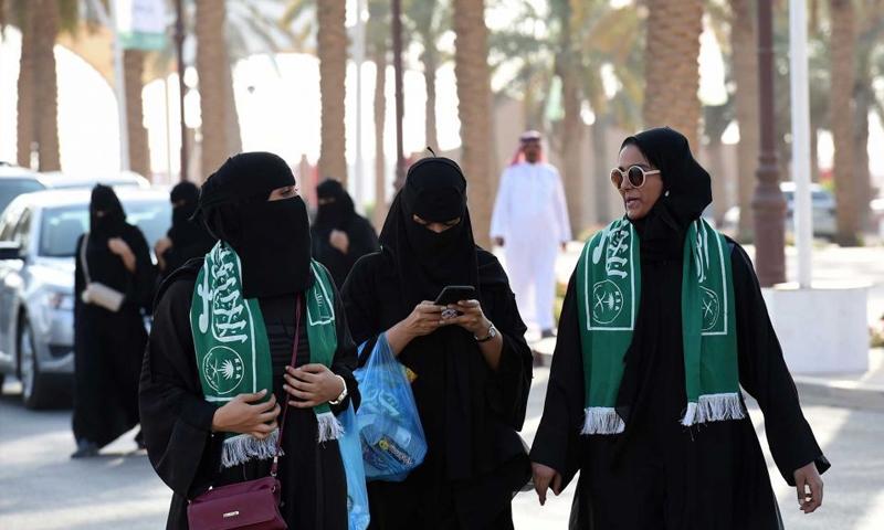 احتفالات العيد الوطني في السعودية (انترنت)
