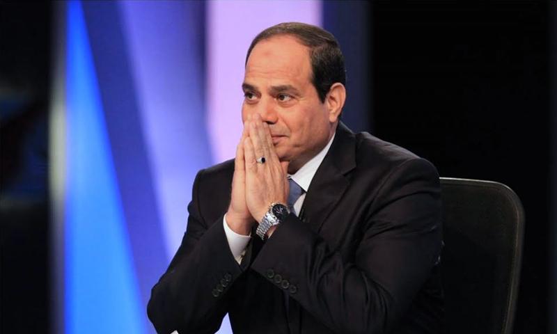 الرئيس المصري، عبد الفتاح السيسي (إنترنت)