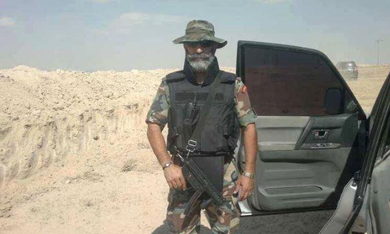 العميد في الحرس الجمهوري وقائد معركة دير الزور، عصام زهر الدين (انترنت)
