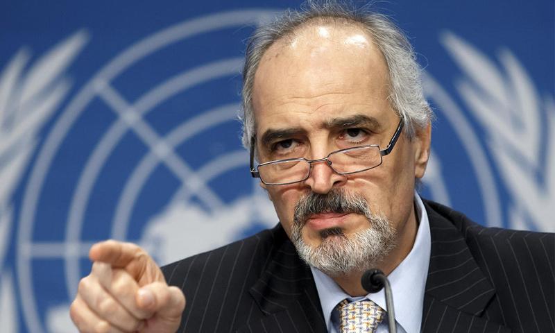 رئيس وفد النظام السوري بشار الجعفري (وكالات)
