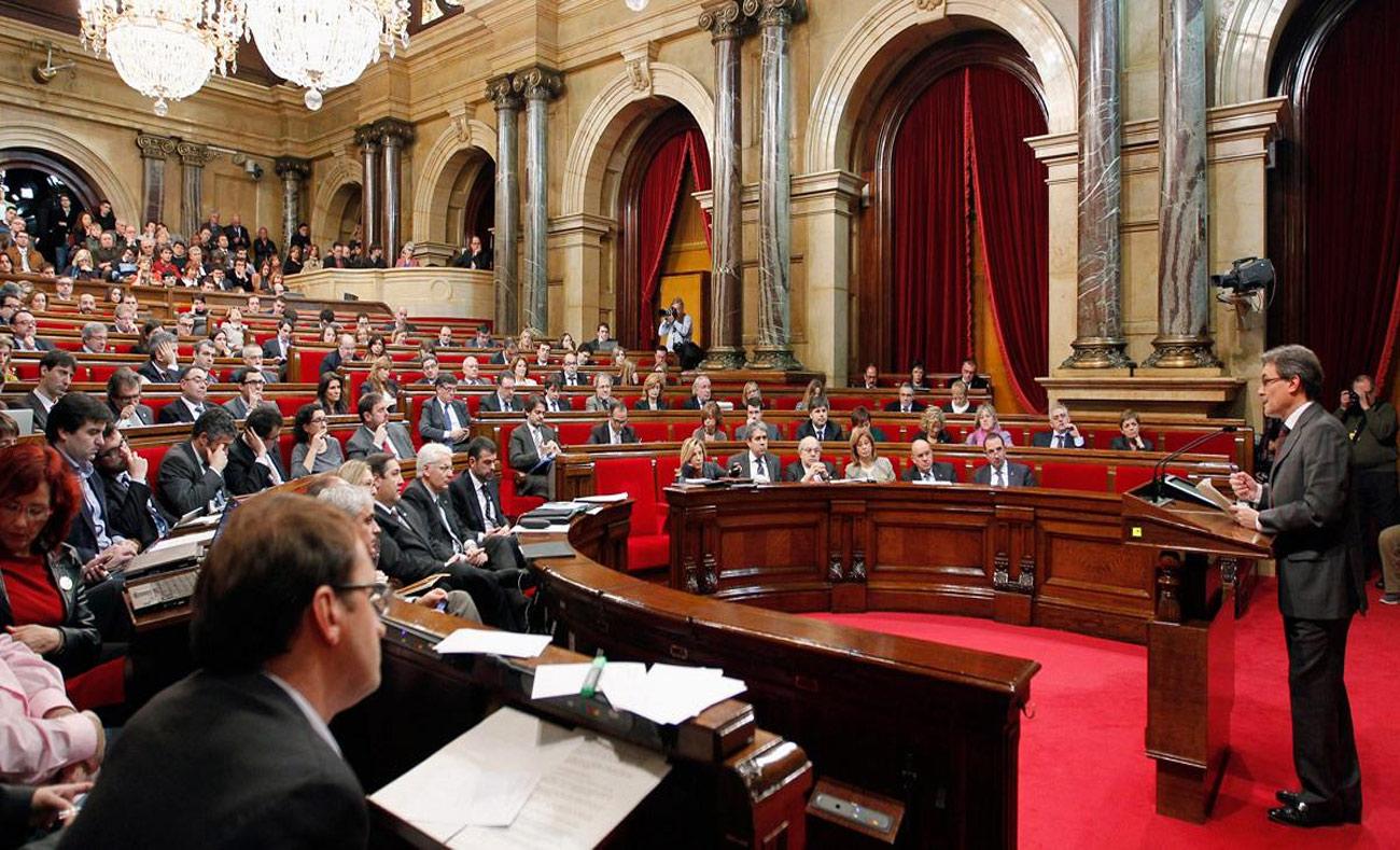 برلمان إقليم كتالونيا (رويترز)