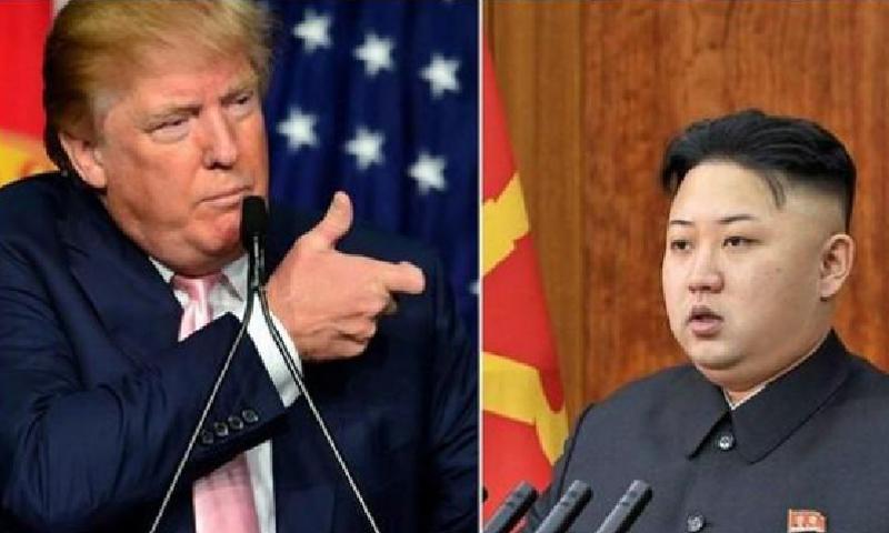 رئيس كوريا الشمالية ونظيره الأمريكي - (انترنت)