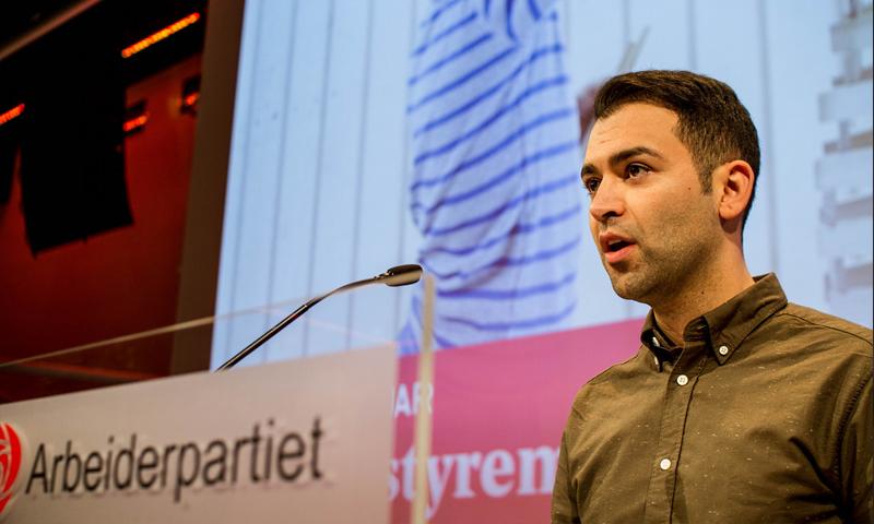 المرشح السوري في الانتخابات البرلمانية النرويجية ماني حسيني - (انترنت)