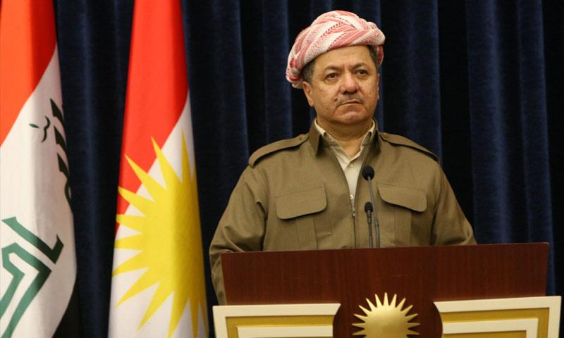 رئيس إقليم كردستان مسعود البارزاني (إنترنت)