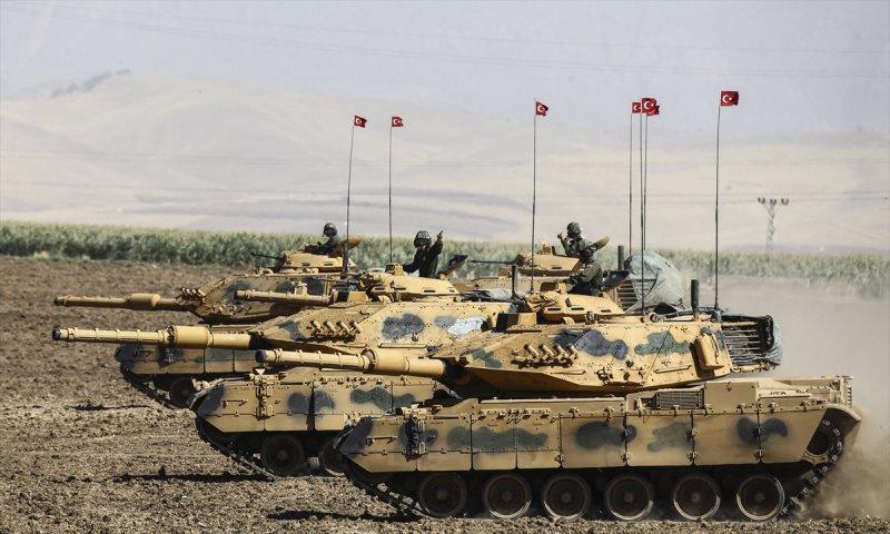 تعبيرية: دبابات تركية (وكالات)