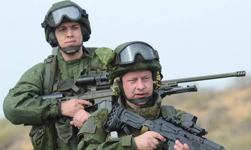 جنديان روسيان في سوريا (إنترنت)