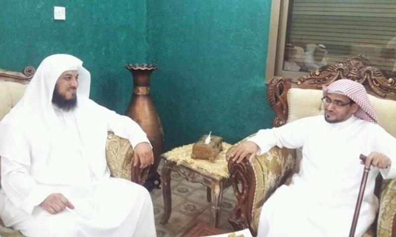 الشيخ محمد العريفي وصالح المغامسي - (انترنت)