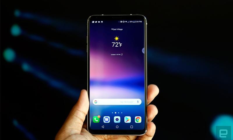 هاتف إلي جي الجديد (مواقع تقنية)