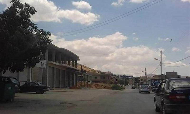 بلدة صويري اللبنانية حيث عثر على جثة الفتاة السورية - 4 أيلول 2017 - (انترنت)