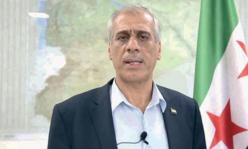 الدكتور جواد أبو حطب رئيس الحكومة المؤقتة (إنترنت)