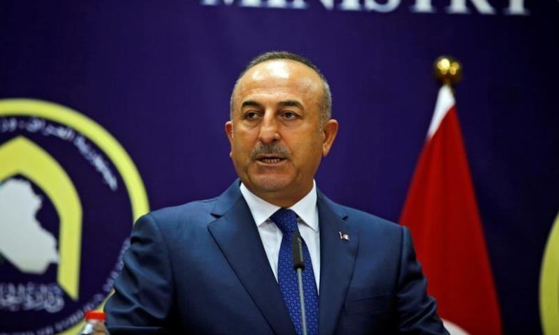 وزير الخارجية التركي مولود جاويش أوغلو- 23 أيلول 2017 (رويترز)
