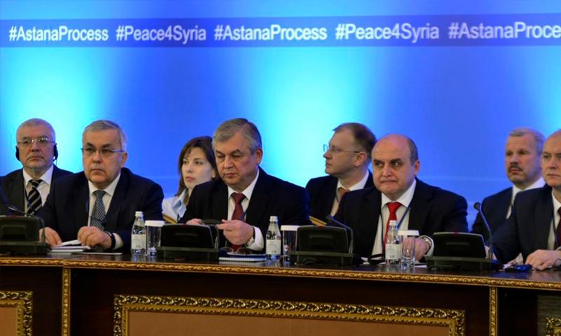 الوفد الروسي إلى محادثات أستانة 6 - 15 أيلول (انترنت)