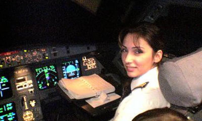 الكابتن السورية وداد شجاع (إنترنت)