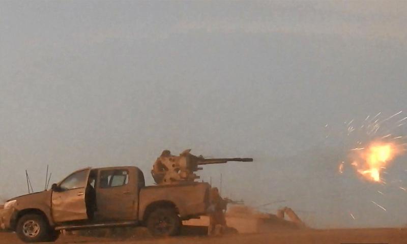 تنظيم الدولة يستهدف مواقع قوات الأسد في محيط مدينة دير الزور - 28 أيلول 2017 (أعماق)