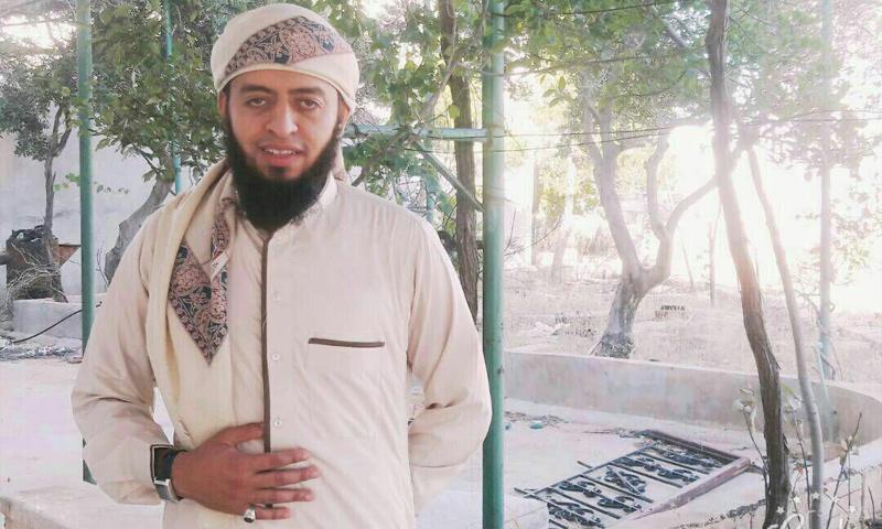 الشرعي في هيئة تحرير الشام أبو محمد الشرعي - (فيس بوك)