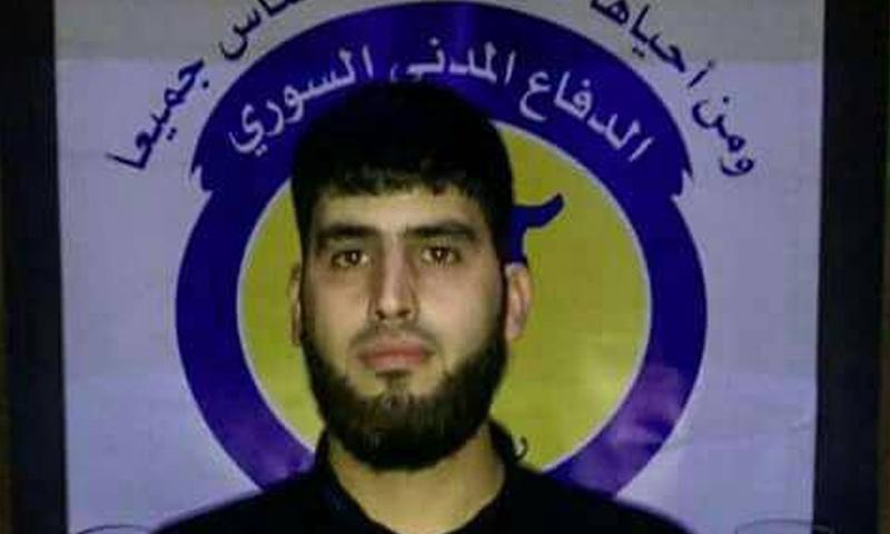 مدير الدفاع المدني في ريف دمشق محمود قدادو - (فيس بوك)