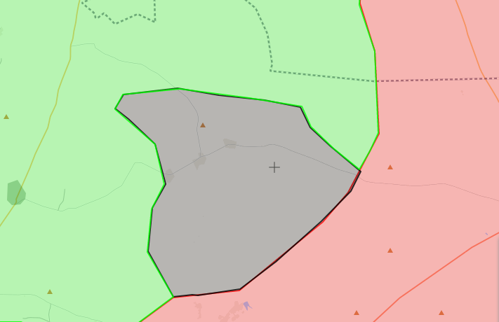 خريطة السيطرة الميدانية في ريف حماة الشرقي - 11 تشرين الأول 2017 (livemap)